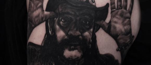 Lemmy Tattoo by Pontus