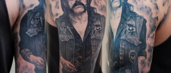 Lemmy Motörhead tattoo