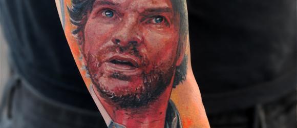 Joakim Thåström tatuering tattoo av Pontus